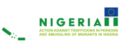 Logo Action Against trafficking in Persons and Smuggling of Migrants in Nigeria